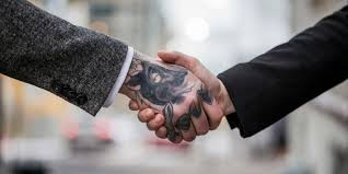 tattoos in hand tattoos in the workplace the research forbes was too lazy to do