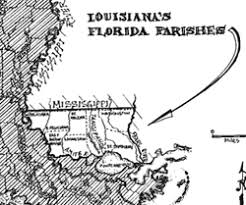 louisiana florida map folklife in the florida parishes overview