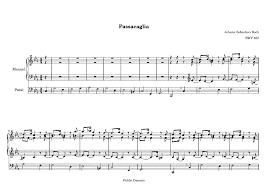 passacaglia in c minor bwv 582 bach johann sebastian imslp