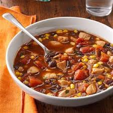 cooking light chicken tortilla soup chicken and black bean soup recipe taste of home
