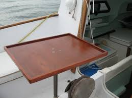 boat tables for cockpit cockpit table o day mariner 1922 orion