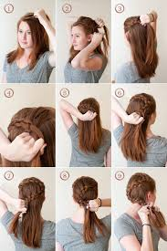 wedding hairstyles step by step instructions the circlet french braid a how to guide for any wedding occasion