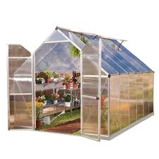 Hobby Greenhouses Metal Greenhouses U0026 Greenhouse Kits Garden Center The Home Depot