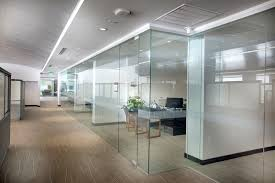 Glass Dividers Interior Design by Interior Fixed Glass Partitions Interior Tech Seattle Portland