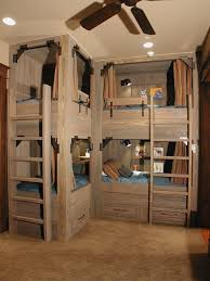 Cowboy Bunk Beds Cowboy Style Rustic With Built In Drawers Removable Wall Murals