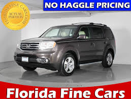 suv honda 2014 used 2014 honda pilot exl suv for sale in hollywood fl 85165