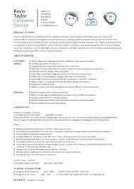 sample resume customer service representative philippines examples