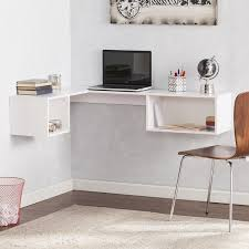 Overstock Corner Desk Blvd Freda Wall Mount Corner Desk White Free Shipping