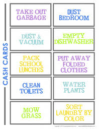 chore list template chore chart for how to make a chore chart