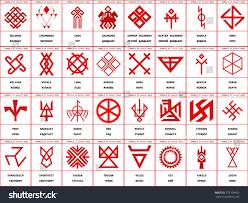 Slavic Flags Large Set Vector Images Symbols Slavic Stock Vector 772109665