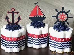 Diaper Cake Centerpieces by Best 25 Nautical Diaper Cakes Ideas On Pinterest Nautical Theme