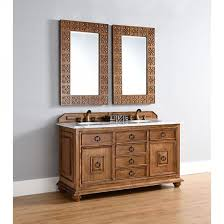 Traditional Bathroom Vanity by James Martin Mykonos Double 60 Inch Traditional Bathroom Vanity