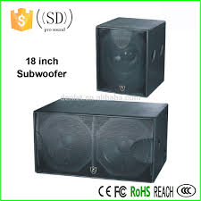 18 inch subwoofer home theater 18 inch subwoofer box design big bass subwoofer speakers stage