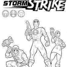 ninja power rangers coloring pages hellokids