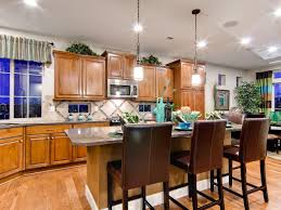 Kitchen Island With Table Attached by Kitchen Island Breakfast Bar Pictures U0026 Ideas From Hgtv Hgtv