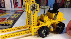 lego technic sets lego technic 850 950 fork lift from 1977 79 vintage bricktsar