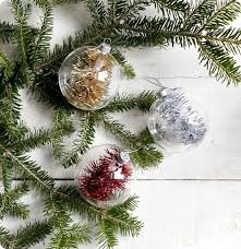 five minute tinsel ornaments crafts ornament and craft