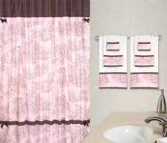 pink and brown bathroom ideas toile in curtains drapes compare prices read reviews and