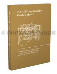 1987 jeep wrangler yj electrical troubleshooting manual original