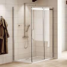900 Shower Door 1200 X 900 Aquafloe Elite Ll 8mm Sliding Shower Enclosure