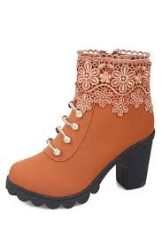 buy boots free shipping buy womens heels boots ankle boots yellow export intl