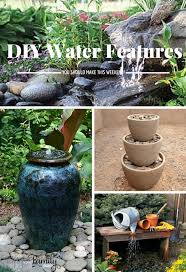creative decoration water features for backyard backyard water