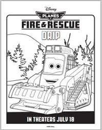 disney planes fire rescue printable coloring sheet dipper 3