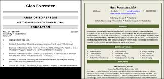 government resume makeover glen forrester edition community