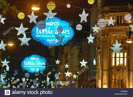 london uk 6th nov 2016 the oxford street christmas decorations
