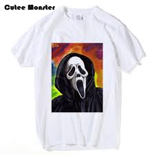 Vintage Halloween T Shirts Online Buy Wholesale Halloween Mask Print From China Halloween