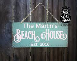 beachy signs signs etsy
