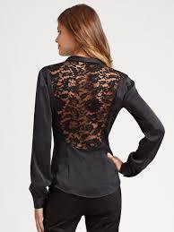 peekaboo blouse lyst nanette lepore peekaboo blouse in gray