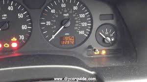 resetting the service light on vauxhall and opel zafira