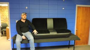 Ford F250 Truck Seat Covers - 1980 1991 ford truck bench seat cover f100 f150 f250 youtube