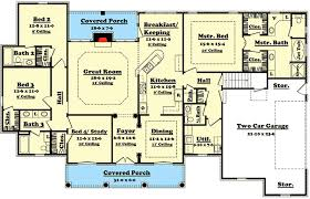 Elegant  Bedroom House Plan With Options HZ - Four bedroom house design