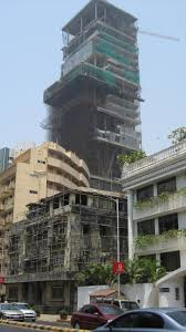 mukesh ambani builds a monument to his wealth riding the elephant the tower rises above peddar road april 2009