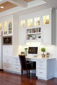 kitchen cabinet desk ideas innovative built in computer desk ideas coolest home decorating