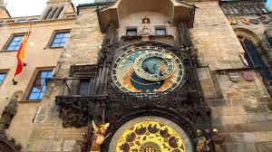 astronomical clock orloj on old town square prague youtube