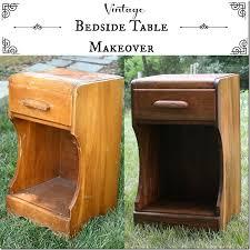 Vintage Bedside Tables Vintage Bedside Table Makeover No Paint Sweet Pea