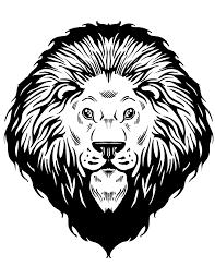 lion head coloring u0026 coloring pages