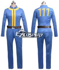 Fallout 3 Halloween Costume Fallout 3 Vault 111 Pc Game Suit Cosplay Costume Cs 11721