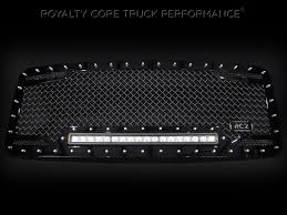 Rigid 50 Led Light Bar by Finally A Truck Grill Made For A Bright Led Light Bar Royalty