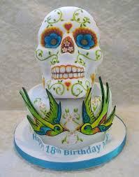 366 skull cakes images sugar skulls halloween