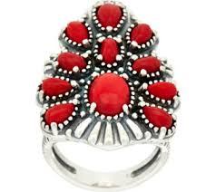 red jewelry rings images American west rings jewelry 001
