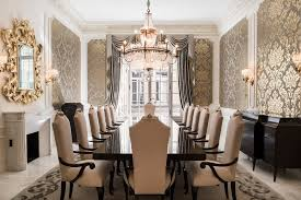 atlanta formal dining room traditional with panel molding wooden