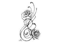 rose tattoo designs lower back image get roses vines tattoos