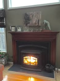 Pellet Stove Inserts Completed Fireplace Repair Projects All Pro Chimney Service