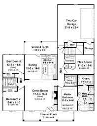 5 Bedroom Country House Plans Country House Plan With 3 Bedrooms And 2 5 Baths Plan 7028