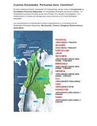 cuantas sociedades portuarias tiene colombia