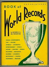 guinness book history 1950 present